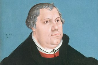 Portret van Luther